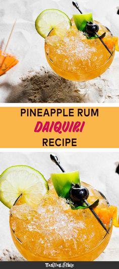 A classic daiquiri with a twist