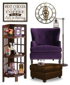 """Coffee Time"" by saifai on Polyvore featuring interior, interiors, interior design, home, home decor, interior decorating, Pier 1 Imports, Jayson Home, Godiva and Stonebriar Collection"