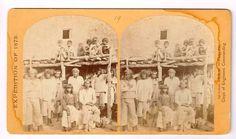 Stereoview Wheeler Expedition 1873 19 O'Sullivan Zuni Indian Braves Pueblo | eBay