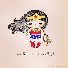 Images and videos of dia mulher Monica Crema, Girl Power Tattoo, My Fantasy World, Wonder Woman, Mo S, Happy Women, Ladies Party, Powerful Women, Cute Girls