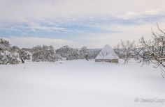 Trullo in Snow