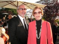 Carol Burnett and husband Brian Miller