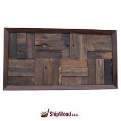 Ručně vyráběný obraz vyskládaný kousek po kousku ze dřeva vysloužilých lodí Dálného východu vsazený do kvalitního dřevěného rámu.   Rozměr obrazu 640 x 340 mm.  Součástí dodávky rámu (obrazu) je kovové očko vč. hřebíčků pro umístění na rám dle potřeb zákazníka. Storage, Furniture, Home Decor, Purse Storage, Decoration Home, Room Decor, Larger, Home Furnishings, Home Interior Design