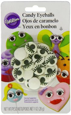 Wilton 710-2223 Icing Candy Decorating Stencil, Eyeball with Eyelash *** Find out more details by clicking the image : Decorating Tools