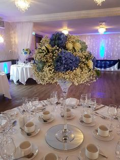 Creative family run wedding & events venue decor stylist, dresser and decor hire based in Central Scotland. Real Flowers, Silk Flowers, Inglewood House, Mirror Plates, Water Beads, Wedding Centerpieces, Centrepieces, Floating Candles, Colour Schemes