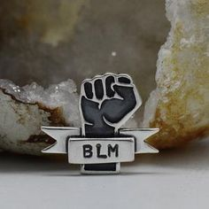 $500 donated to Black Lives Matter per every 100 sold! Lapel Pins, Jewelry Making, Safe Place, Instagram Posts, Profile, Community, Learning, Black, Ideas