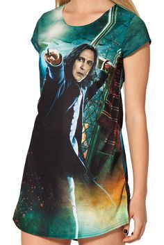 This week, Black Milk Clothing debuted a collection of Harry Potter-themed apparel. I'll take the lot!