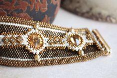 Beading pattern for bracelet 'Sweet Embrace'
