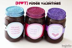 hot fudge valentines
