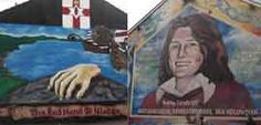Shankill Road and Falls Road murals