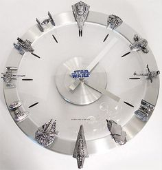 Star Wars Geek Clock I am seeing a future kitchen clock here!