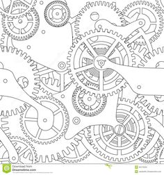 gear-seamless-texture-cogwheel-black-white-40175222.jpg (1300×1390)