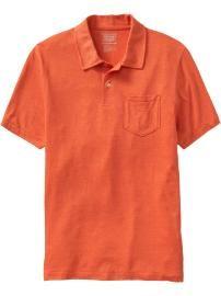 Men's Tri-Blend Jersey Polos