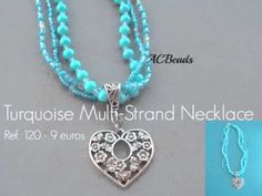 A short video on the NECKLACES I've made in 2013 #ACBEADS