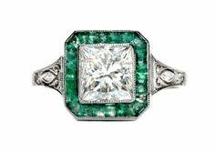 Raleigh #trumpetandhorn #vintage #jewelry #wedding #engagementring