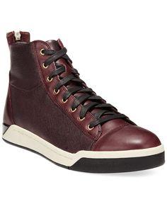 35c26f86db47c Diesel Tempus Diamond Hi-Top Sneakers   Reviews - All Men s Shoes - Men -  Macy s