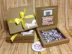 Convite caixa confete!