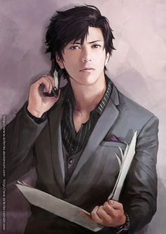 Jumin Han by Brilcrist.deviantart.com on @DeviantArt