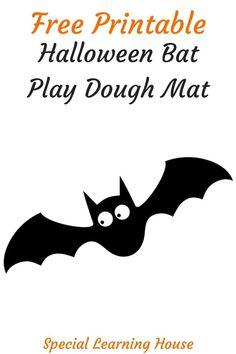 Free Printable Halloween Play Dough Mat #Halloween #Kids Halloween Cans, Funny Halloween Costumes, Scary Halloween, Autism Activities, Autism Resources, Printable Crafts, Free Printables, Play Dough, Diy Halloween Decorations
