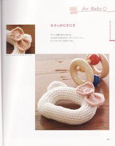 FREE Hello Kitty Baby Rattle Crochet Pattern