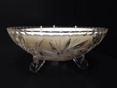 Tuberose candle in beautiful 24 oz crystal bowl.  Brilliantcandlelight.com