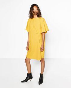 bde27f273e8 DRAPED DRESS - COLLECTION-SALE-WOMAN