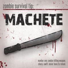 zombie survival tip.