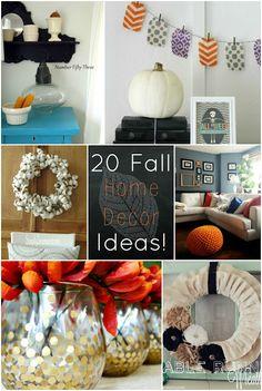 20 Fall Decor Ideas