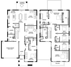 Simonds Homes Floorplan - Montpelliar