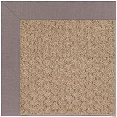 Capel Zoe Grassy Mountain Machine Tufted Evening/Brown Area Rug Rug Size: 12' x 15'