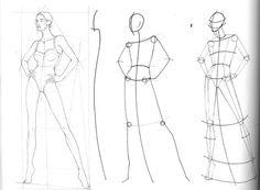 Fashion drawing technique