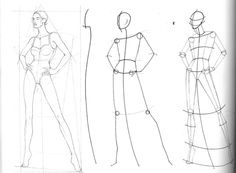 Fashion drawing technique