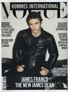 James Franco on Vogue Hommes International cover