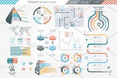 @newkoko2020 Infographic Elements (v4) by Infographic Paradise on @creativemarket #infographic #infographics #bundle #design #template #megabundle #bigbundle #presentation #vector #business #layout #creative #graph #information #visualization