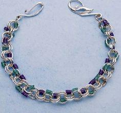 Intermediate – Vineyard Coils Bracelet