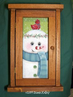 Key Keeper - Hand Painted Painted Books, Hand Painted, Online Painting Classes, Painting Videos, Christmas Paintings, Paint Shop, Tole Painting, Painting Patterns, Woodworking Ideas