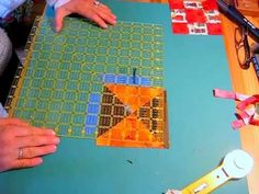 How to Square a Quilt Block - YouTube