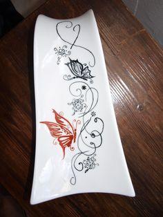 Repose cuillères aux papillons