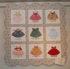 This quilt is retired now, but wow it was one of my favorites!