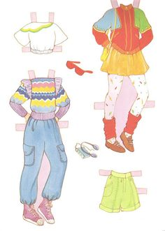Paper Dolls~Mandy - Bonnie Jones - Álbuns da web do Picasa Paper Toys, Paper Crafts, Fabric Beads, Vintage Paper Dolls, Printable Paper, Free Printable, Retro Toys, Mother And Child, Sweet Girls