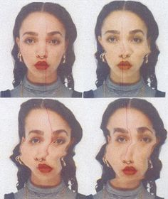 FKA Twigs // so much perfect Nam June Paik, Arte Indie, Pics Art, Grafik Design, Aesthetic Pictures, Art Inspo, Beauty Photography, Cool Photos, Photo Editing