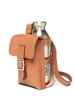 Officina del Poggio Bottle Bag - Senape Leather on Garmentory Best Fashion Magazines, Old Fashioned Drink, Bottle Bag, Leather Bags Handmade, Fashion Bags, Covet Fashion, Fashion Clothes, Fashion Fashion, Handmade Accessories
