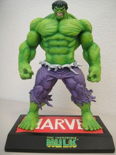 "THE Incredible Hulk Maquette Over 9"" Statue"