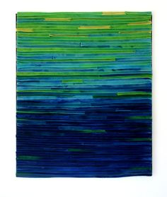 Abstract Textile Fiber Art Wallhanging