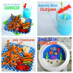 Beachhead blue slurped-love the fish on the straw!