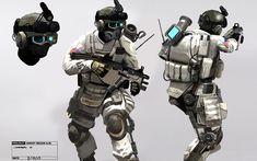 Rocketumblr | Ghost Recon Future Soldier Concept Art