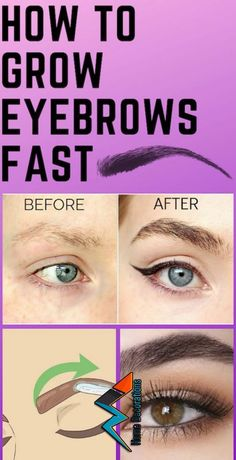 How to Grow Eyebrows Fast!- How to Grow Eyebrows Fast! How to Grow Eyebrows Fast! Thick Brows, Thicker Eyebrows, Sparse Eyebrows, Perfect Eyebrows, Natural Brows, Natural Hair, Natural Beauty, How To Grow Eyebrows, Grow Eyelashes