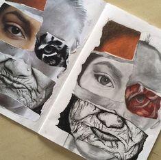 A level art sketchbook, sketchbook layout, sketchbook inspiration, art alev A Level Art Sketchbook, Sketchbook Layout, Arte Sketchbook, Sketchbook Inspiration, Sketchbook Ideas, A-level Kunst, Arte Gcse, Portfolio D'art, Art Sketches