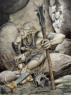 A Goblin of Gundabad ~ Henning Janssen.