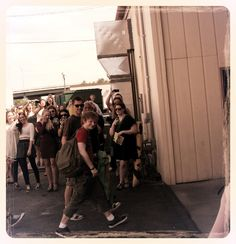 A single version of him walking into the venue (3rd and Lindsley Nashville TN June 18th 2012)